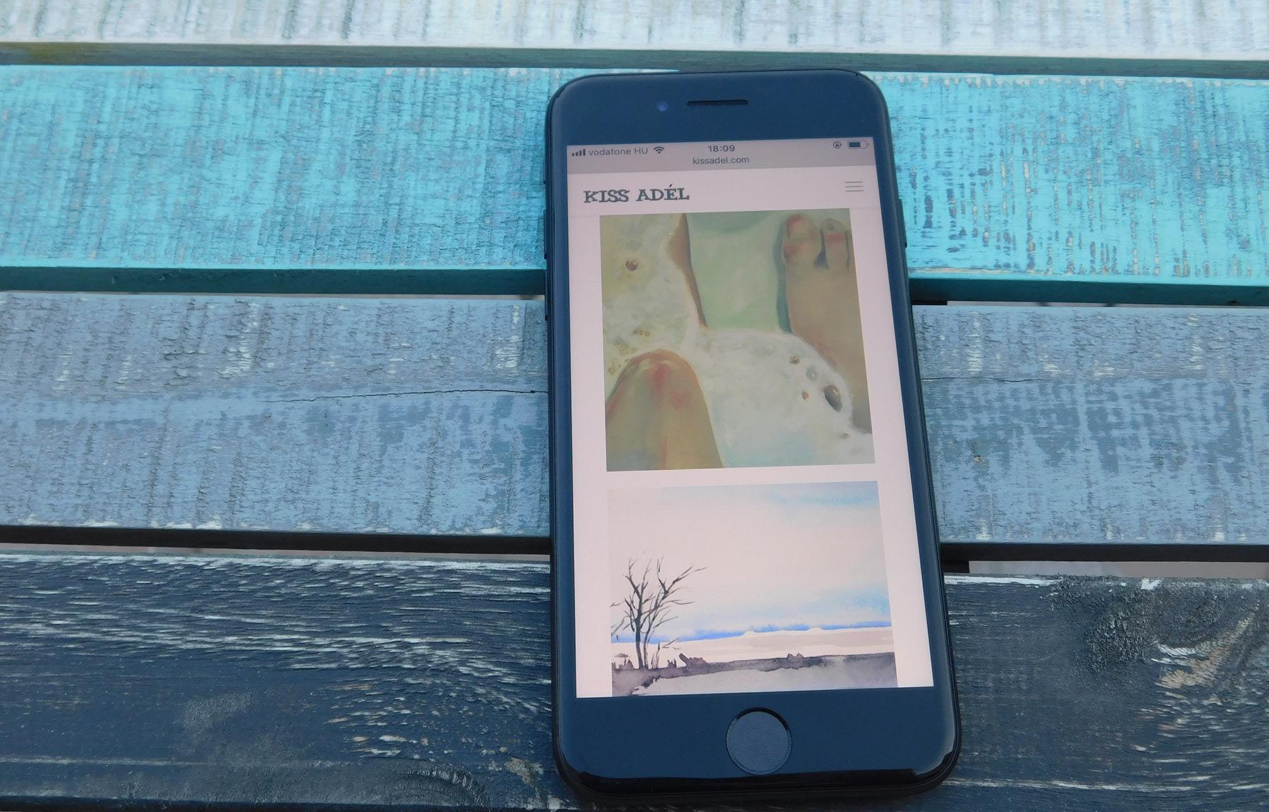 kissadel.com művészeti honlapkészítés